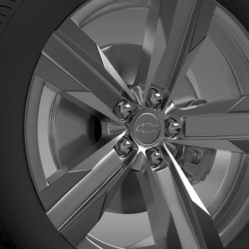 chevrolet camaro zl1 2012 wheel 3d model 3ds max fbx c4d lwo ma mb hrc xsi obj 141379