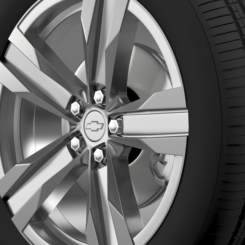 chevrolet camaro zl1 2012 wheel 3d model 3ds max fbx c4d lwo ma mb hrc xsi obj 141380