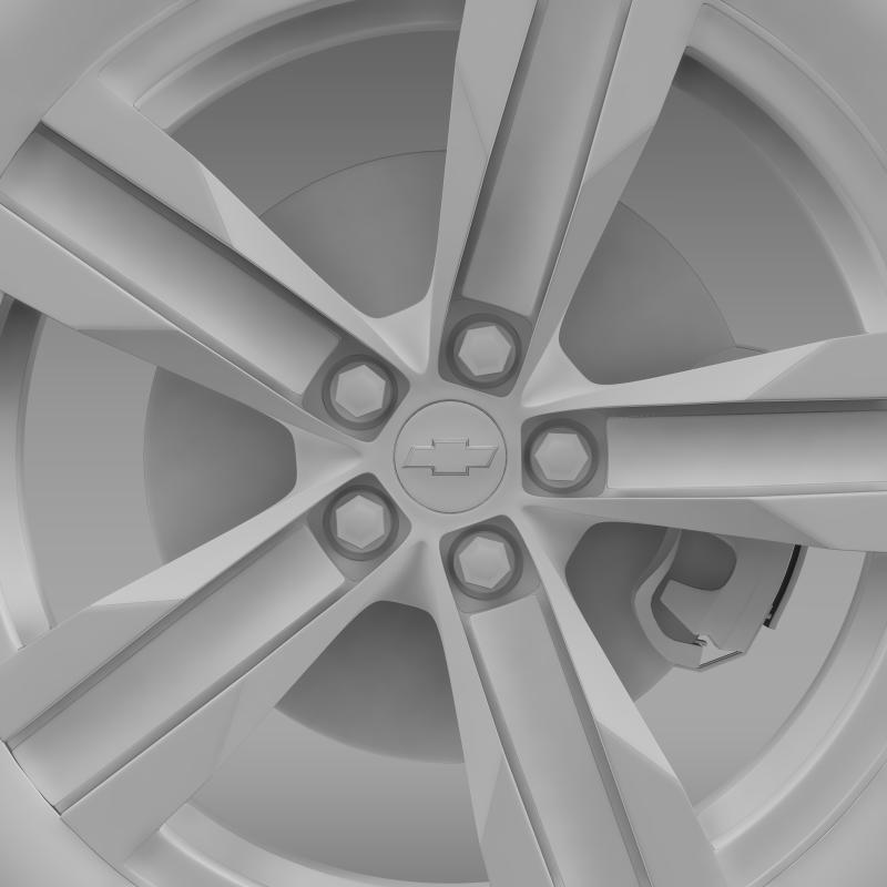 chevrolet camaro zl1 2012 wheel 3d model 3ds max fbx c4d lwo ma mb hrc xsi obj 141387