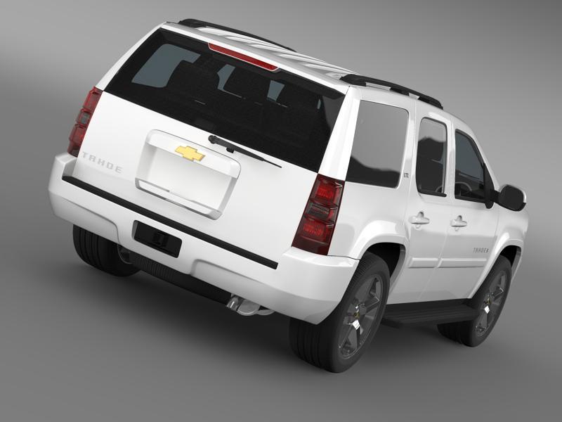chevrolet tahoe ltz 2007 3d model 3ds max fbx c4d lwo ma mb hrc xsi obj 149189