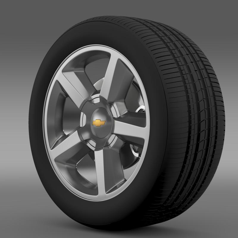 chevrolet_tahoe_2008_wheel 3d model 3ds max fbx c4d lwo ma mb hrc xsi obj 143148