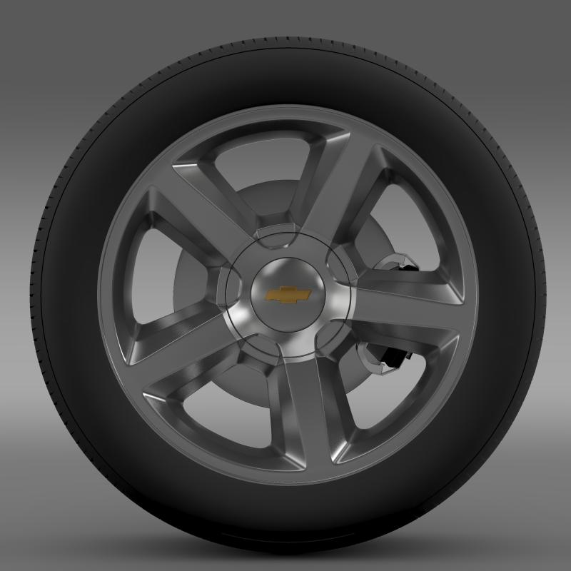 chevrolet_tahoe_2008_wheel 3d model 3ds max fbx c4d lwo ma mb hrc xsi obj 143149