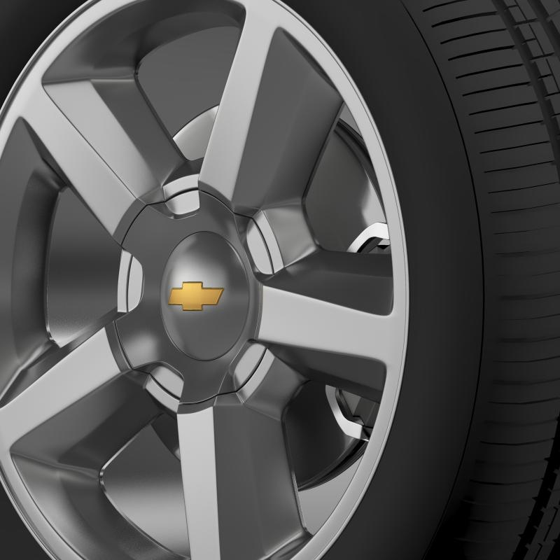 chevrolet_tahoe_2008_wheel 3d model 3ds max fbx c4d lwo ma mb hrc xsi obj 143151