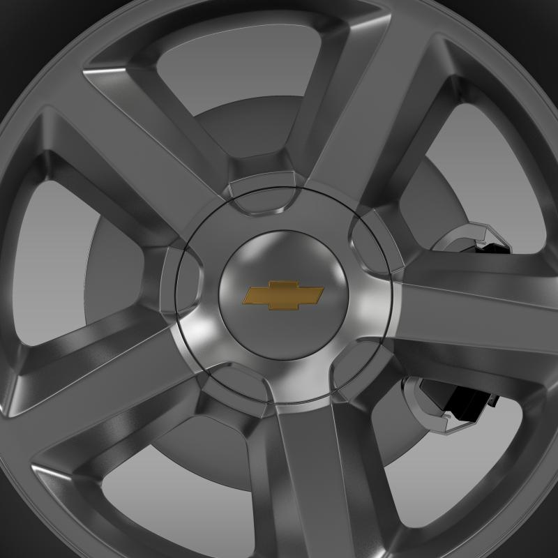 chevrolet_tahoe_2008_wheel 3d model 3ds max fbx c4d lwo ma mb hrc xsi obj 143152
