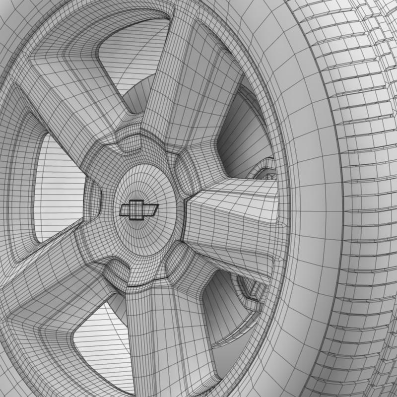 chevrolet_tahoe_2008_wheel 3d model 3ds max fbx c4d lwo ma mb hrc xsi obj 143157