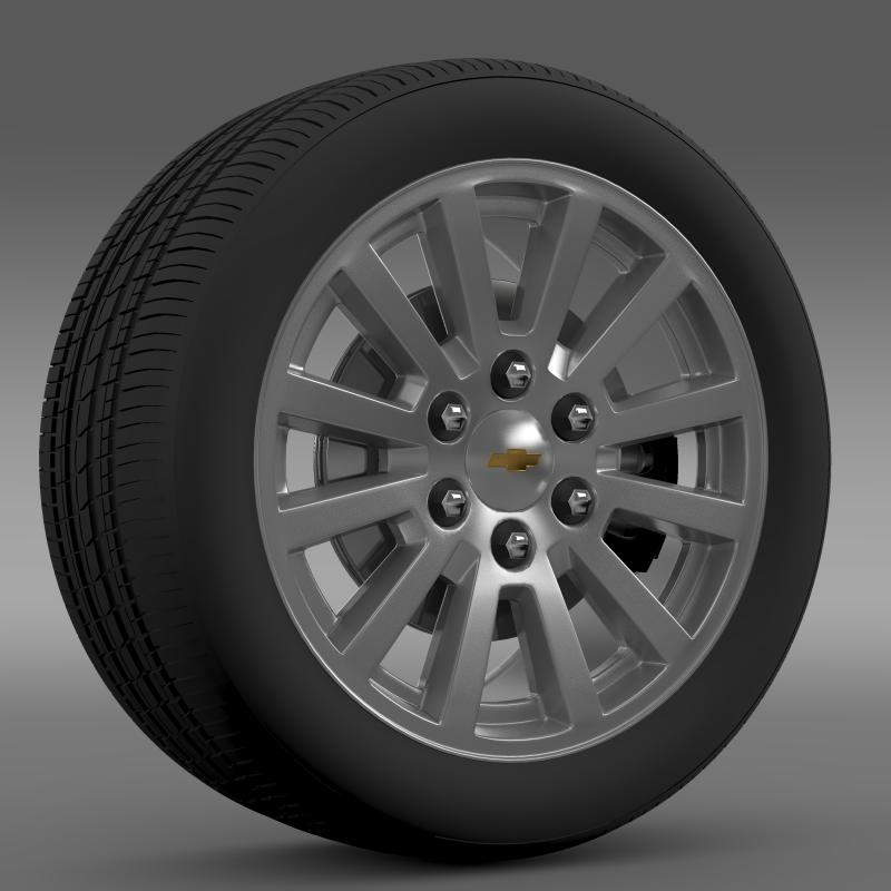 chevrolet_tahoe_hybrid_2012_wheel 3d model 3ds max fbx c4d lwo ma mb hrc xsi obj 143159