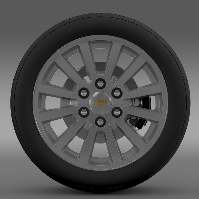 chevrolet_tahoe_hybrid_2012_wheel 3d model 3ds max fbx c4d lwo ma mb hrc xsi obj 143160
