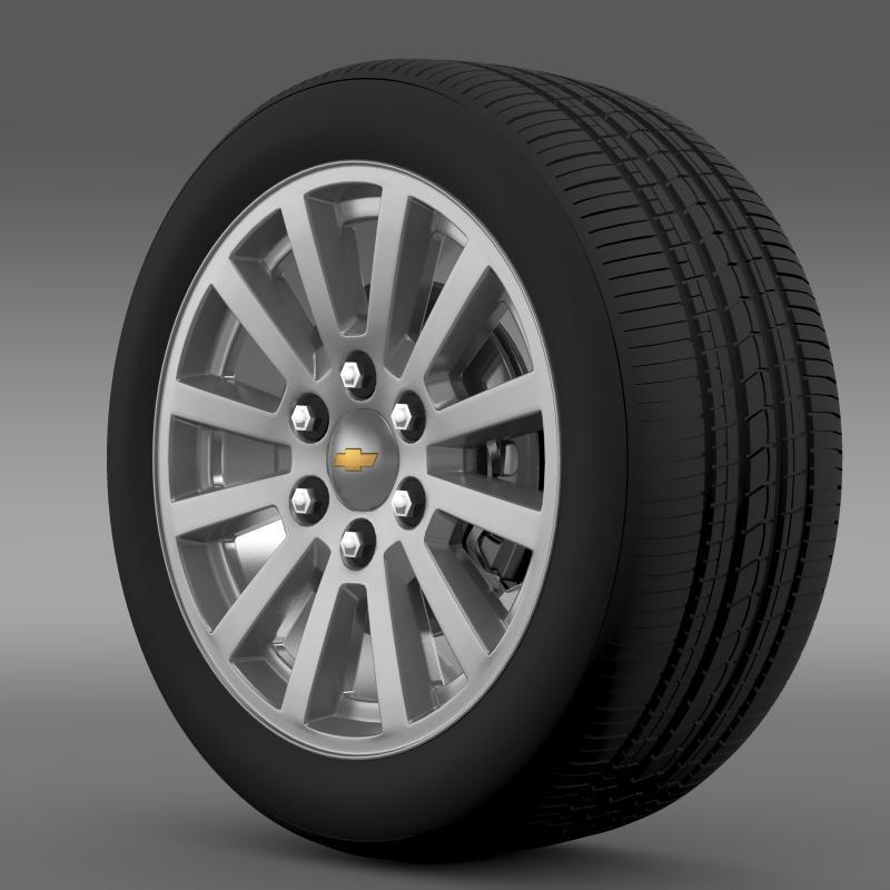 chevrolet_tahoe_hybrid_2012_wheel 3d model 3ds max fbx c4d lwo ma mb hrc xsi obj 143161