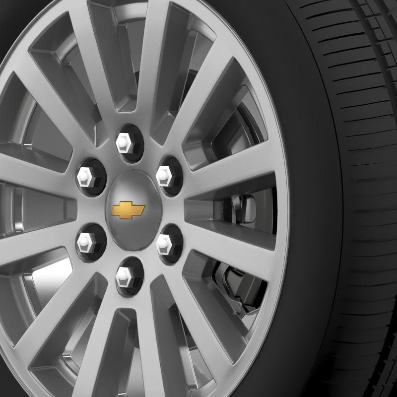 chevrolet_tahoe_hybrid_2012_wheel 3d model 3ds max fbx c4d lwo ma mb hrc xsi obj 143163