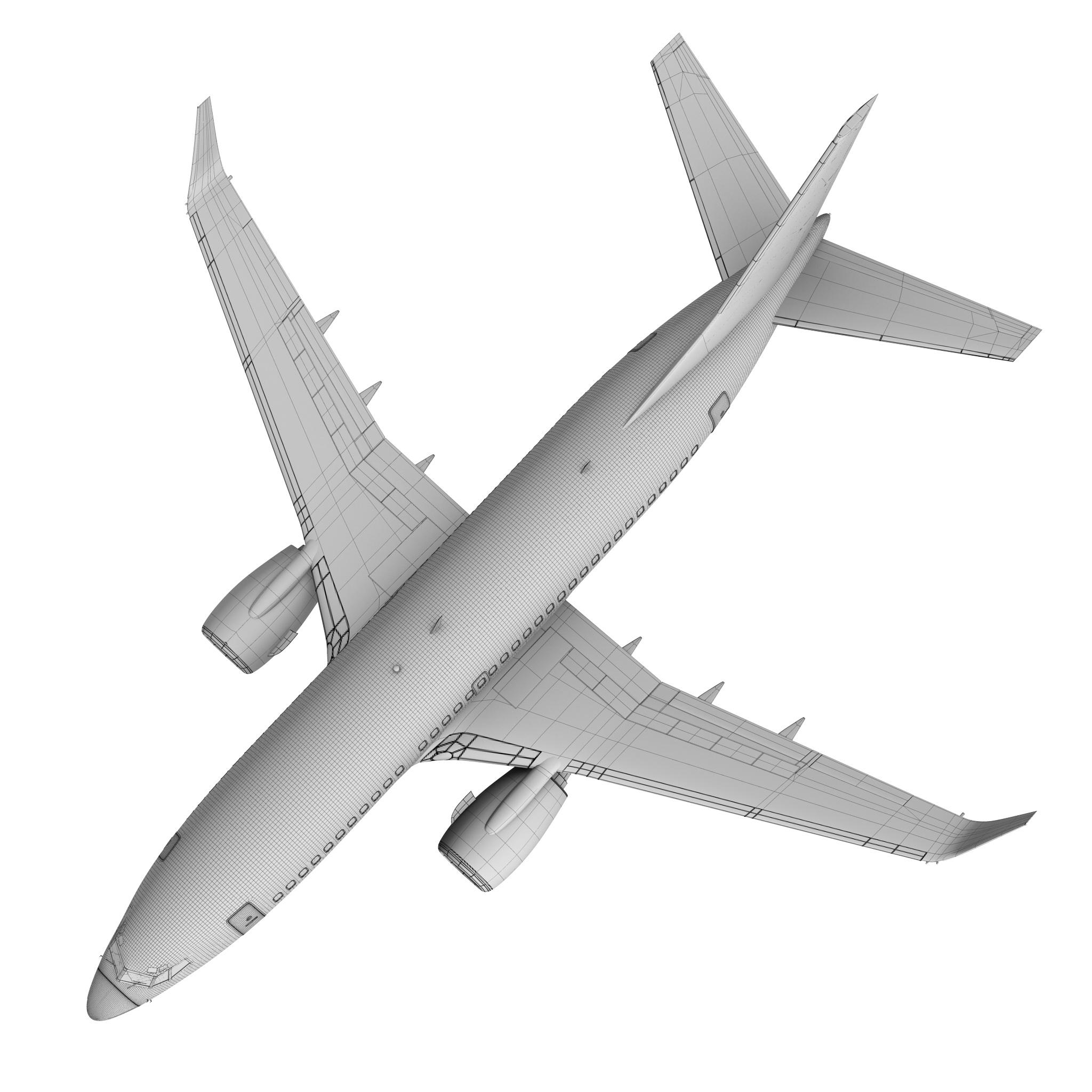 delta airlines boeing 737-700w 3d model max fbx c4d ma mb obj 120314