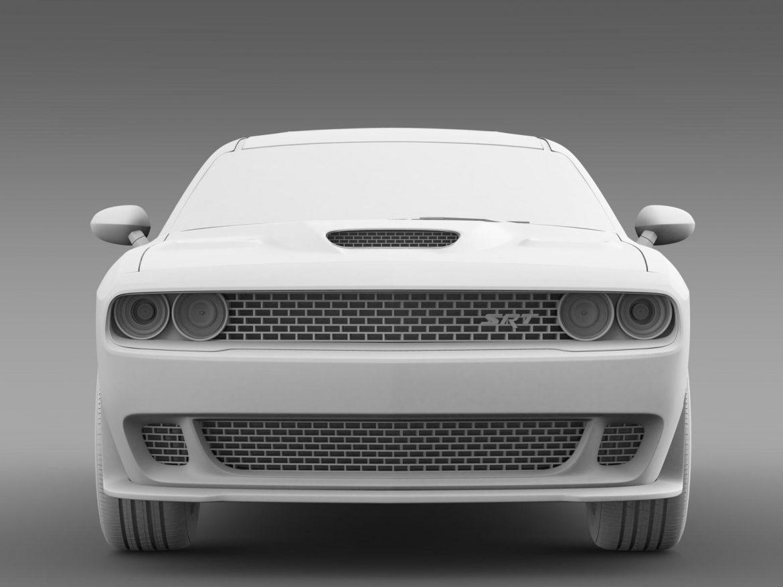 dodge challenger srt hellcat supercharged 2015 3d model 3ds max fbx c4d lwo ma mb hrc xsi obj 165757