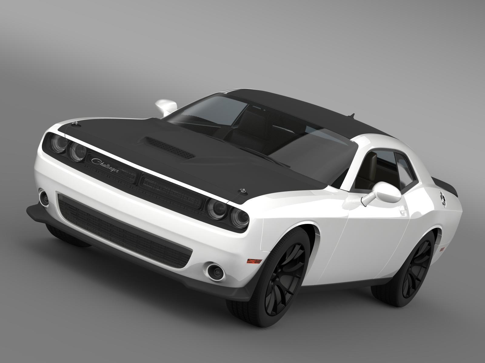 Dodge dúshlán an choincheapa lc 2014 3d model 3ds max fbx c4d le hrc xsi obj 165763