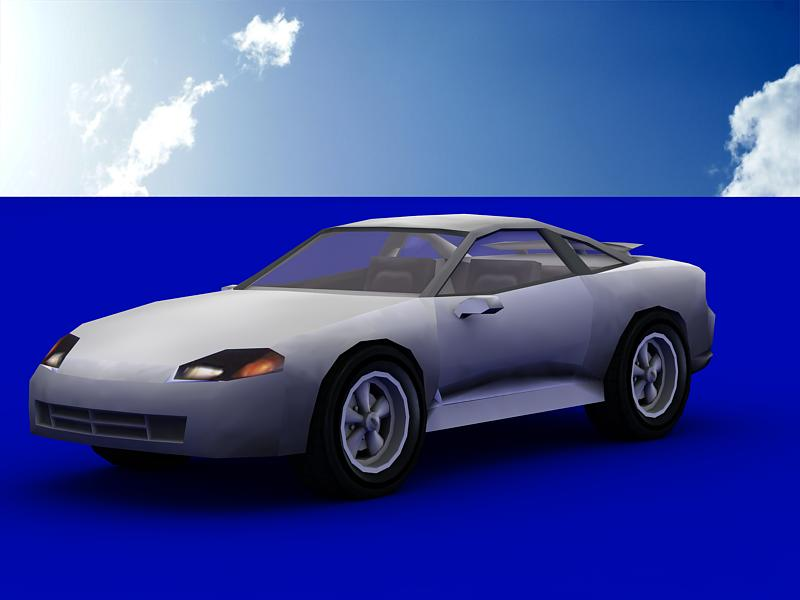 dodge stealth 3d model 3ds max dxf dwg fbx obj 120001