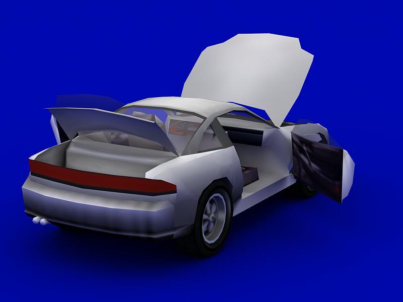 dodge stealth 3d model 3ds max dxf dwg fbx obj 120009