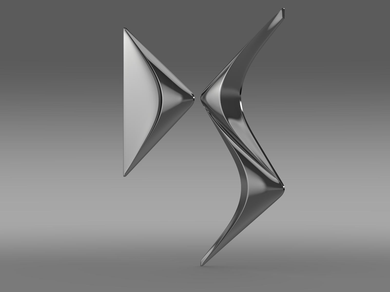 ds logo 3d model 3ds max fbx c4d lwo ma mb hrc xsi obj 162828