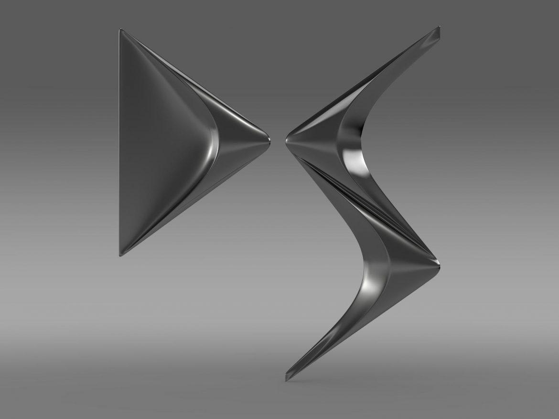ds logo 3d model 3ds max fbx c4d lwo ma mb hrc xsi obj 162829