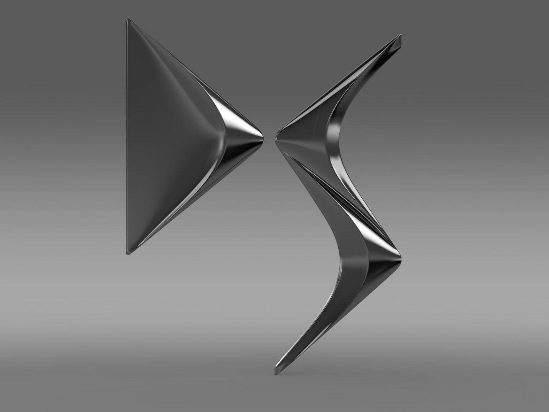 ds logo 3d model 3ds max fbx c4d lwo ma mb hrc xsi obj 162830