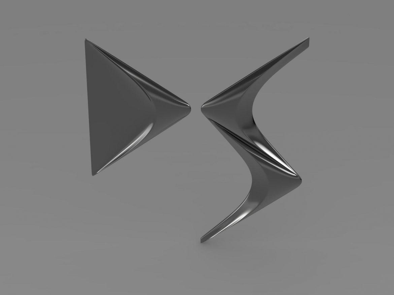 ds logo 3d model 3ds max fbx c4d lwo ma mb hrc xsi obj 162832