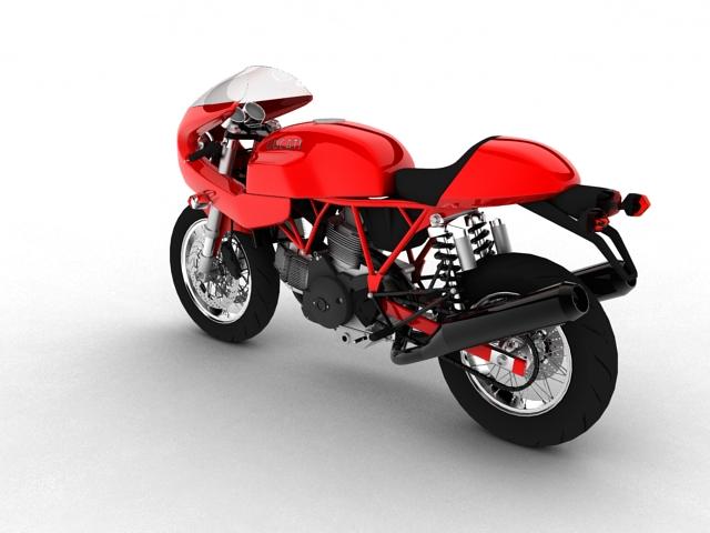 ducati 1000s 2009 3d model 3ds max c4d obj 149331