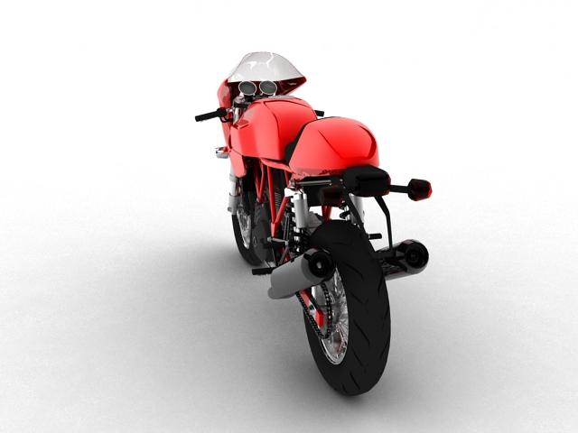 ducati 1000s 2009 3d model 3ds max c4d obj 149332