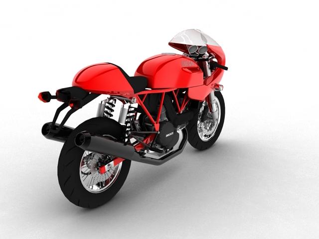 ducati 1000s 2009 3d model 3ds max c4d obj 149333