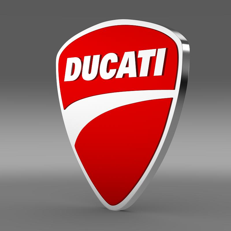 ducati 3d logo 3d model 3ds max fbx c4d lwo ma mb hrc xsi obj 150258