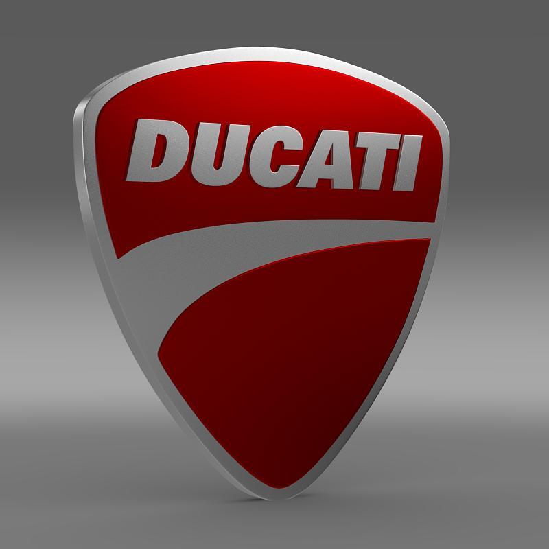 ducati 3d logo 3d model 3ds max fbx c4d lwo ma mb hrc xsi obj 150260