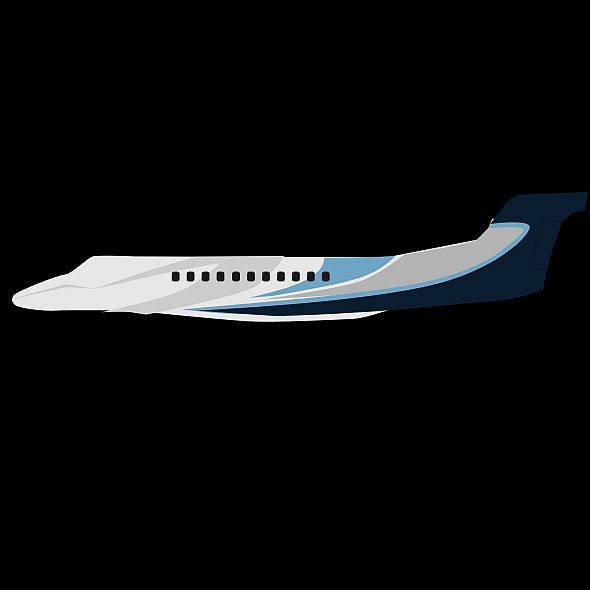 embraer legacy 650 private jet 3d model 3ds fbx blend dae lwo obj 165337