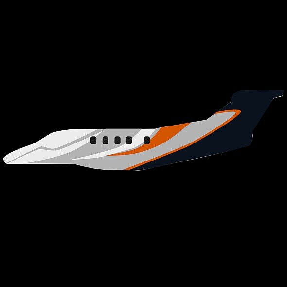 embraer phenom 300 business jet 3d model 3ds fbx blend dae lwo obj 165323