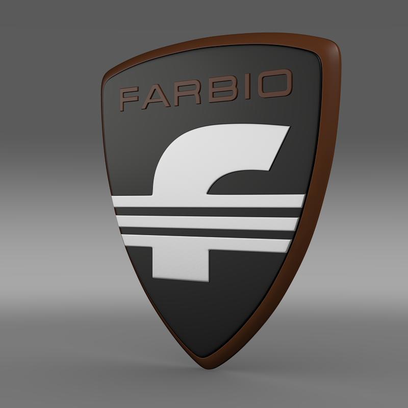 farbio logo 3d model 3ds max fbx c4d lwo ma mb hrc xsi obj 155252