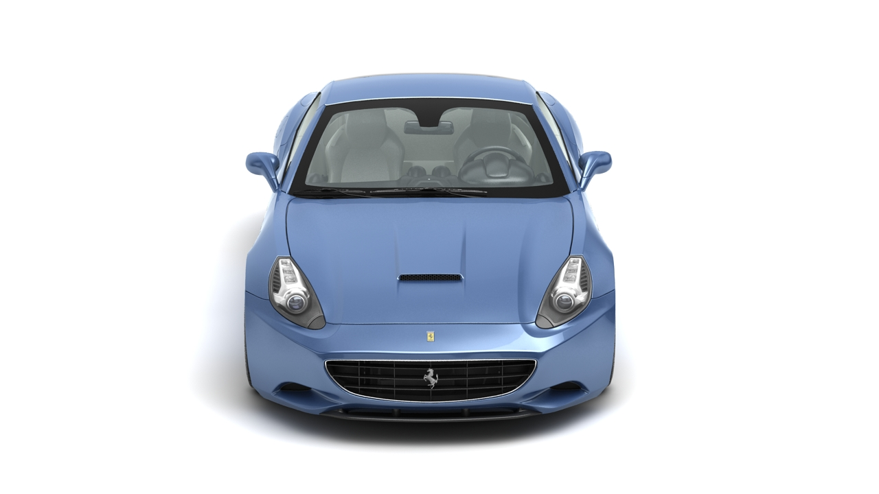 ferrari california 09 3d model 3ds max fbx c4d 140638