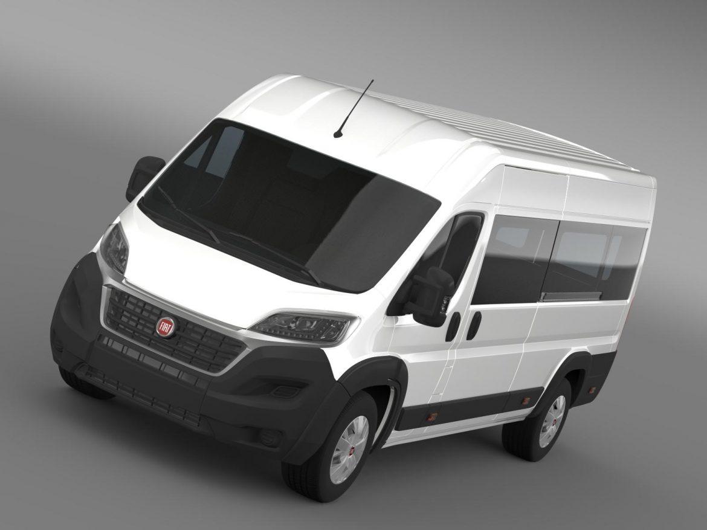 fiat ducato maxi minibus 2015 3d model 3ds max fbx c4d lwo ma mb hrc xsi obj 165873