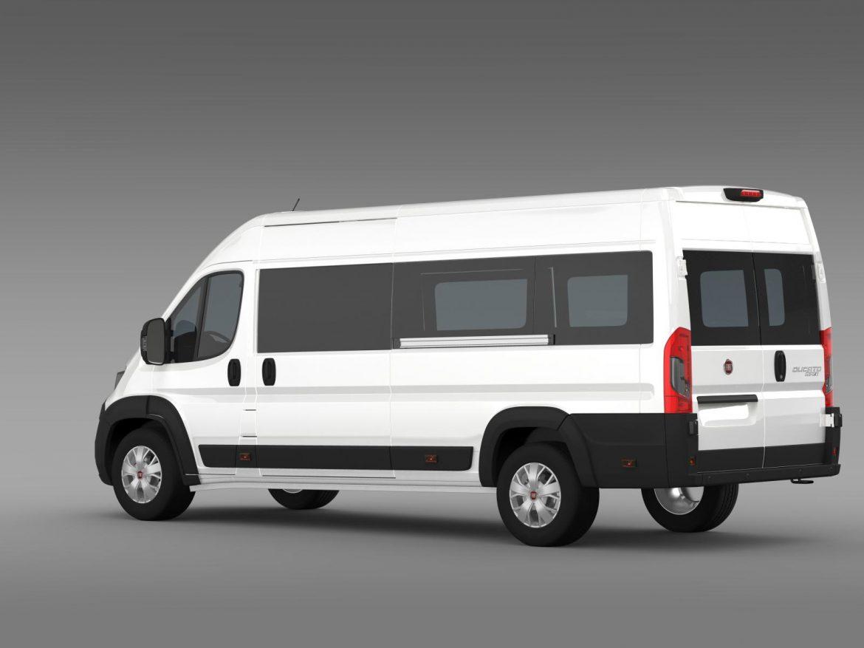 fiat ducato maxi minibus 2015 3d model 3ds max fbx c4d lwo ma mb hrc xsi obj 165879