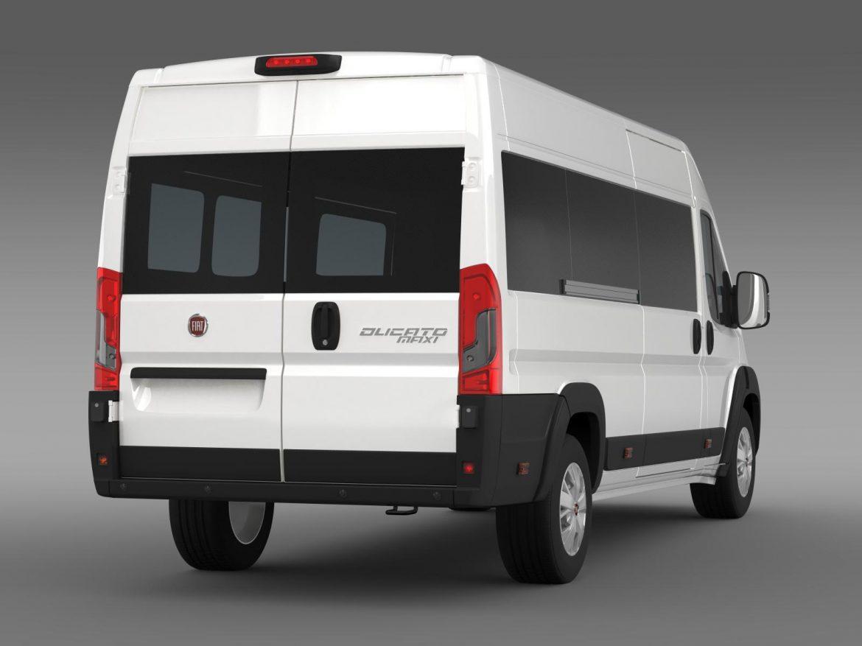 fiat ducato maxi minibus 2015 3d model 3ds max fbx c4d lwo ma mb hrc xsi obj 165881