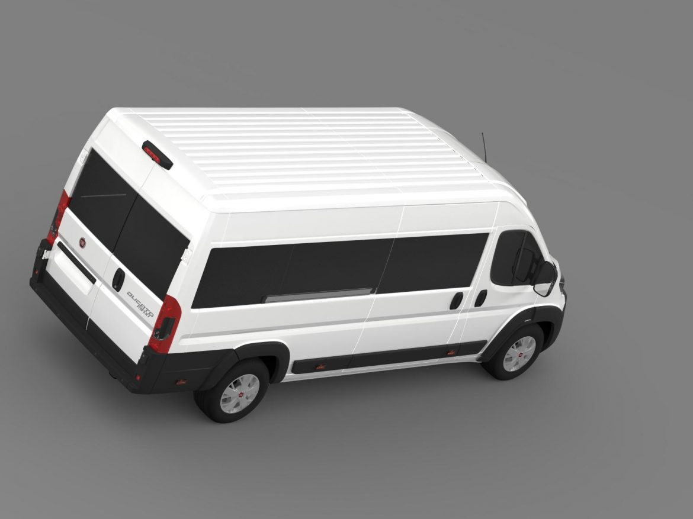 fiat ducato maxi minibus 2015 3d model 3ds max fbx c4d lwo ma mb hrc xsi obj 165882