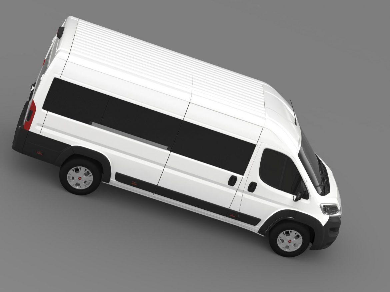 fiat ducato maxi minibus 2015 3d model 3ds max fbx c4d lwo ma mb hrc xsi obj 165883