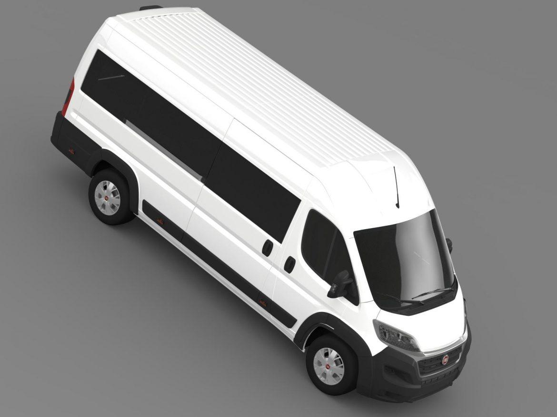 fiat ducato maxi minibus 2015 3d model 3ds max fbx c4d lwo ma mb hrc xsi obj 165884