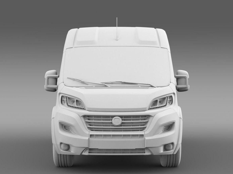 fiat ducato maxi minibus 2015 3d model 3ds max fbx c4d lwo ma mb hrc xsi obj 165885