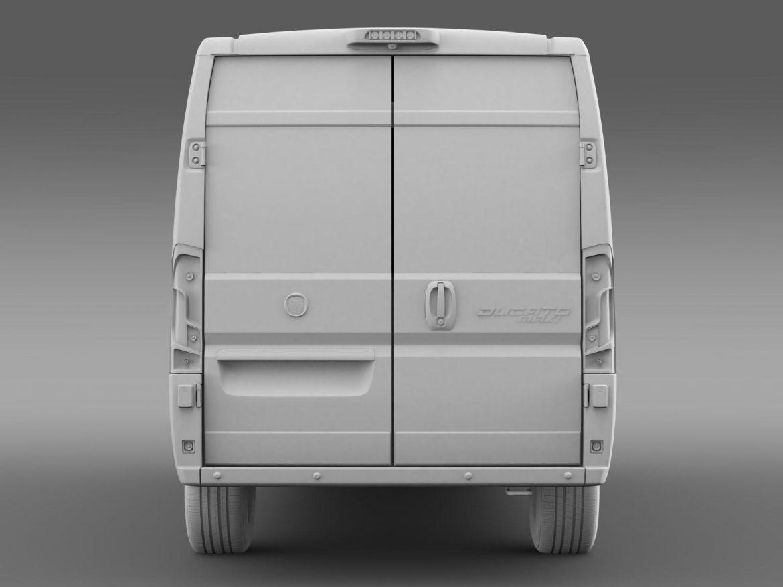 fiat ducato maxi minibus 2015 3d model 3ds max fbx c4d lwo ma mb hrc xsi obj 165886
