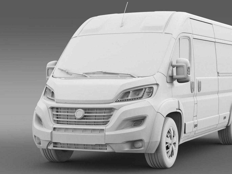 fiat ducato maxi minibus 2015 3d model 3ds max fbx c4d lwo ma mb hrc xsi obj 165887