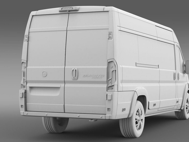fiat ducato maxi minibus 2015 3d model 3ds max fbx c4d lwo ma mb hrc xsi obj 165888