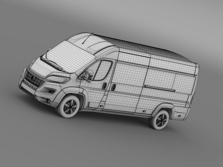 fiat ducato maxi minibus 2015 3d model 3ds max fbx c4d lwo ma mb hrc xsi obj 165889