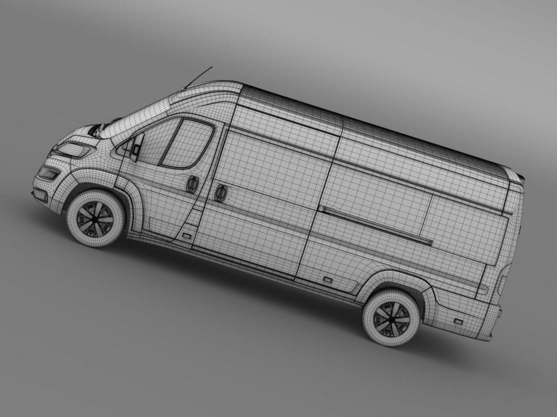 fiat ducato maxi minibus 2015 3d model 3ds max fbx c4d lwo ma mb hrc xsi obj 165890