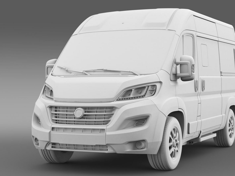 fiat ducato panorama 2015 3d model 3ds max fbx c4d lwo ma mb hrc xsi obj 166164