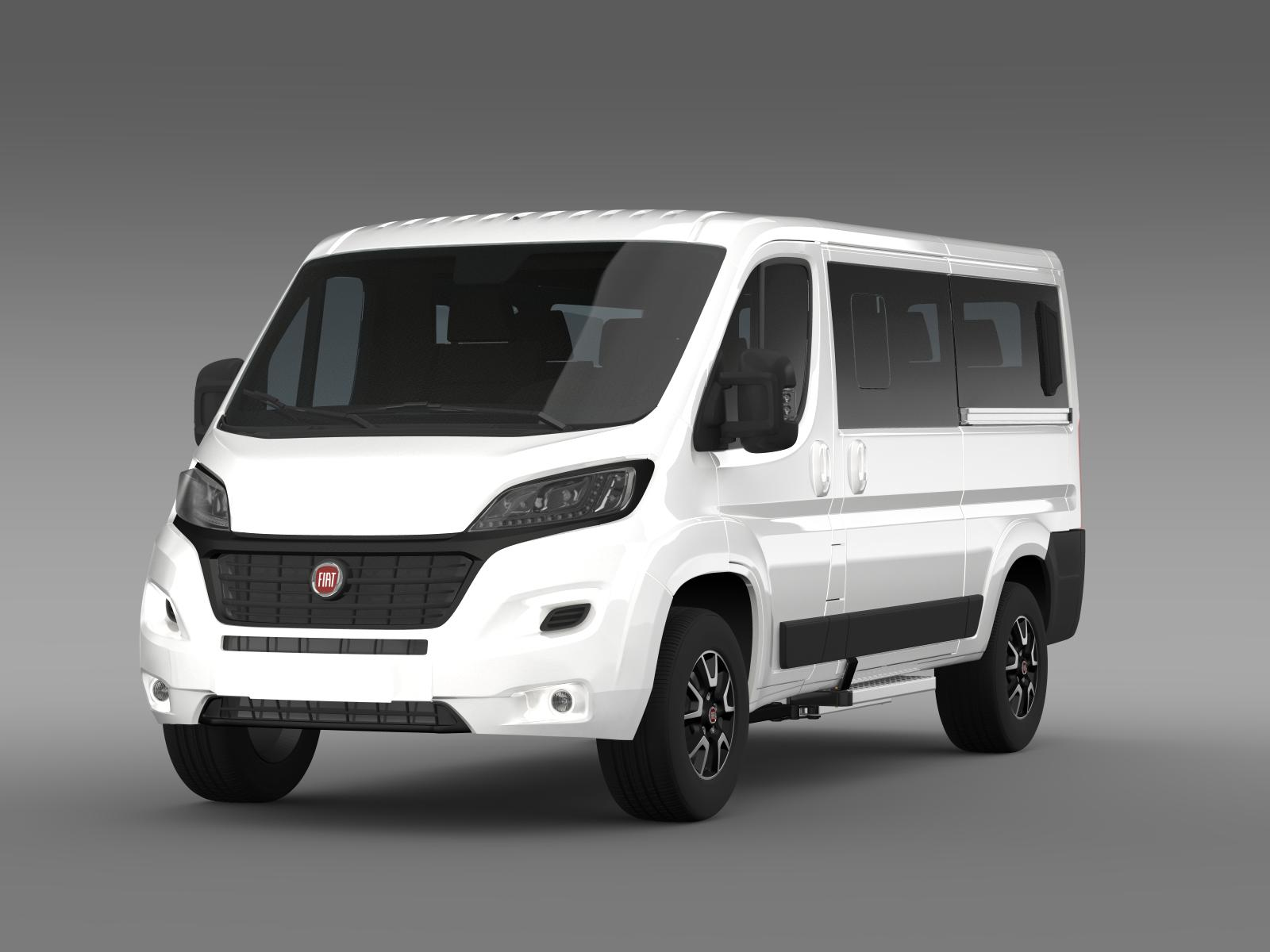 fiat ducato panorama l2h1 2015 3d model buy fiat ducato panorama l2h1 2015 3d model flatpyramid. Black Bedroom Furniture Sets. Home Design Ideas