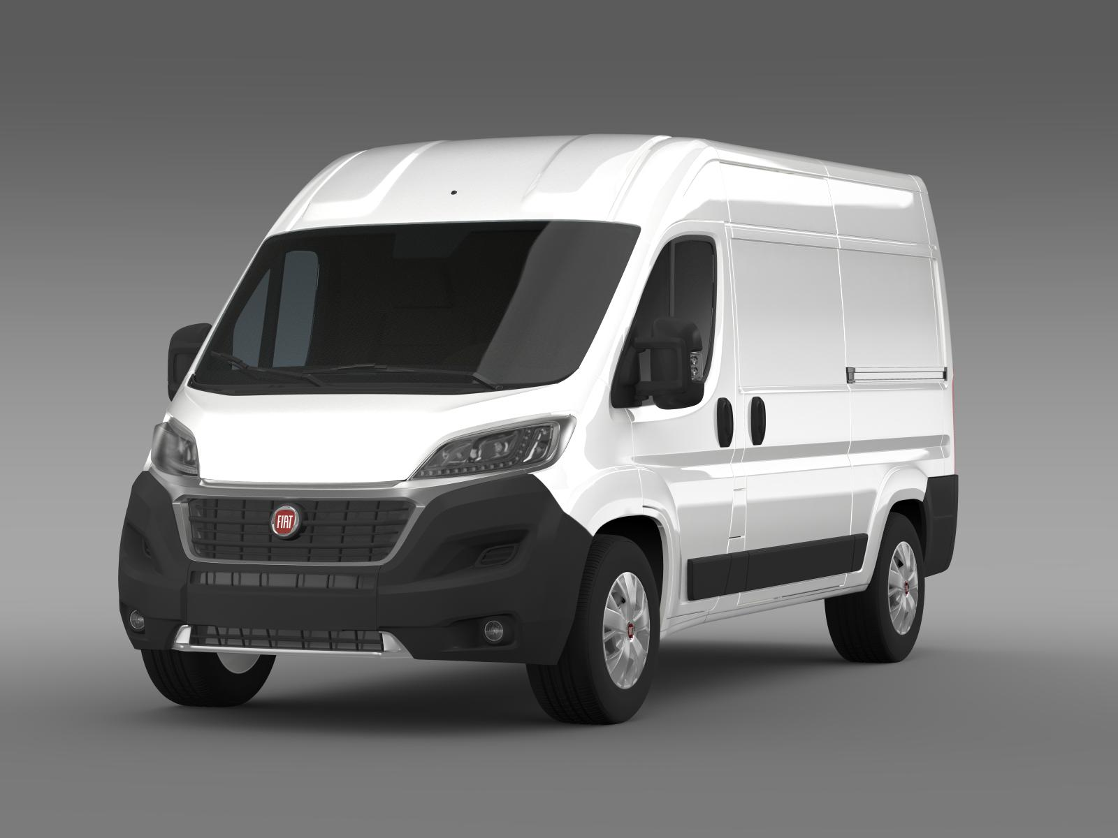 fiat ducato van l2h2 2015 3d model buy fiat ducato van l2h2 2015 3d model flatpyramid. Black Bedroom Furniture Sets. Home Design Ideas