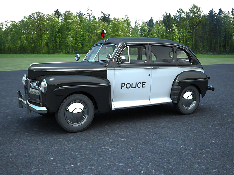 ford fordor police car 3d model max 163010