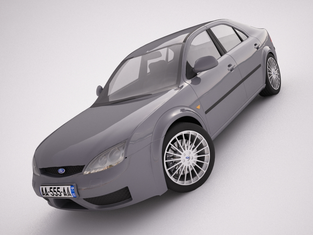 ford mondeo 2006 3d model max texture obj other 120109