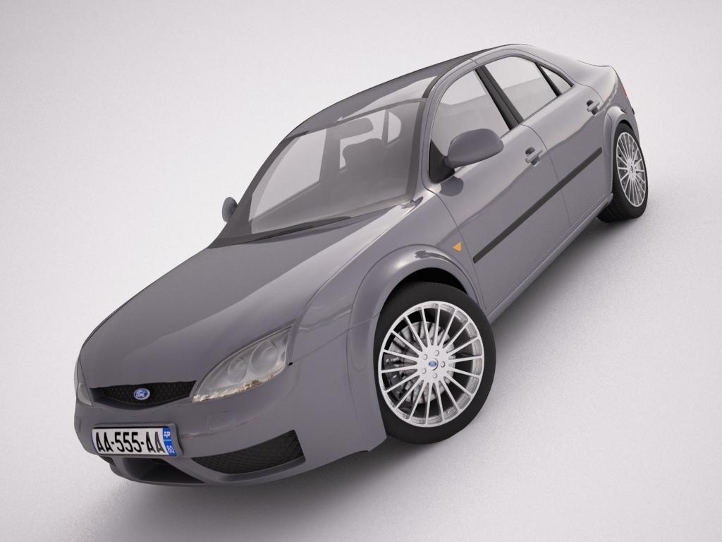 ford mondeo 2006 3d model max texture obj 120109