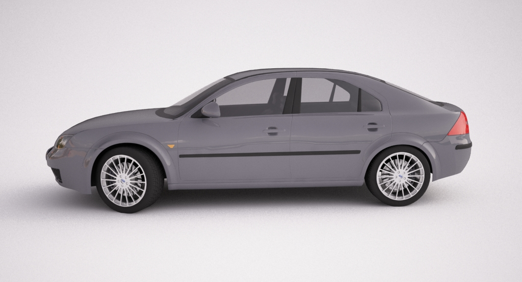 ford mondeo 2006 3d model max texture obj other 120112